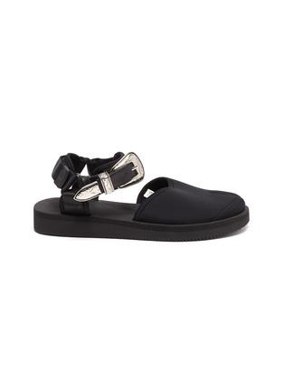 Main View - Click To Enlarge - SUICOKE - x Toga 'Vita' buckle tabi sandals