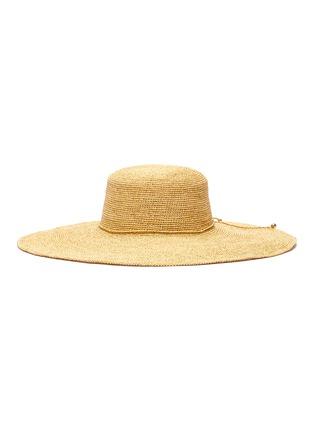 Main View - Click To Enlarge - SENSI STUDIO - Lady Ibiza toquilla straw hat