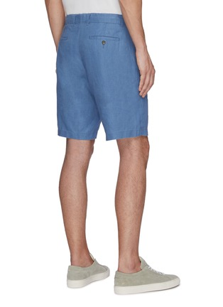 Back View - Click To Enlarge - VINCE - James' classic hemp shorts