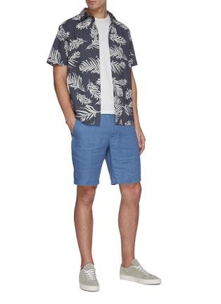 Figure View - Click To Enlarge - VINCE - James' classic hemp shorts