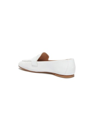 - STUART WEITZMAN - Payson' croc-embossed leather loafers