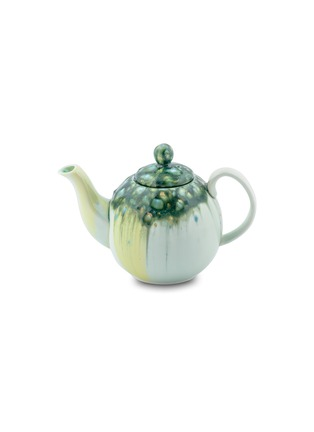 Main View - Click To Enlarge - CORALLA MAIURI - Stone Bone China Teapot – Green