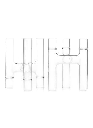 Main View - Click To Enlarge - FFERRONE - Trio Candelabras Bud Vase hybrid set