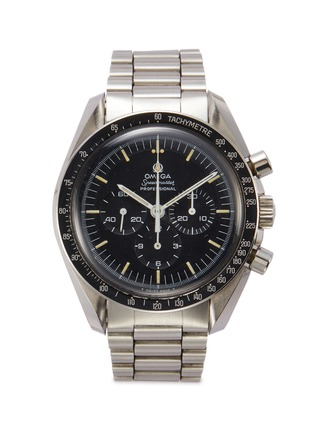 Main View - Click To Enlarge - LANE CRAWFORD VINTAGE COLLECTION - Omega Speedmaster stainless steel watch