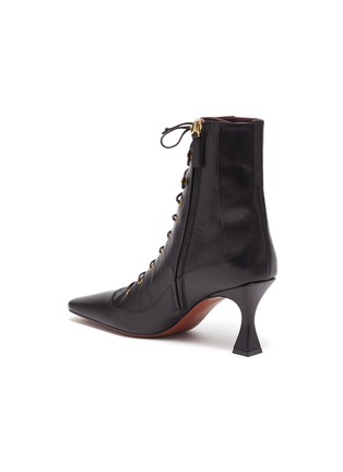 - MANU ATELIER - 'Duck' lace up leather ankle boots