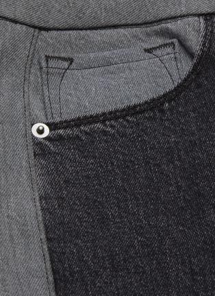 - FRAME DENIM - Le Pixie colourblock mini bootcut jeans