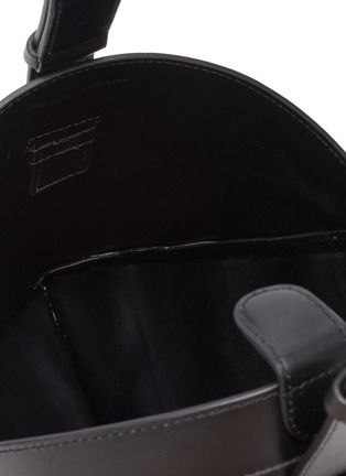 Detail View - Click To Enlarge - COPERNI - Wi-Fi' top handle leather bag