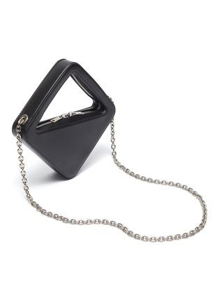 Figure View - Click To Enlarge - COPERNI - 'Mini App' angle handle leather bag