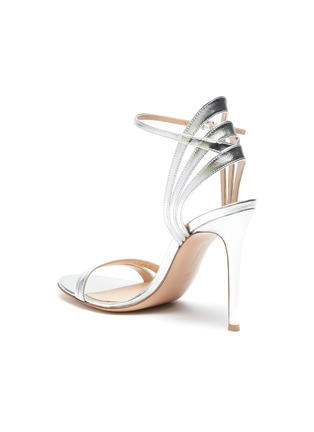 - GIANVITO ROSSI - Strappy heeled leather sandals