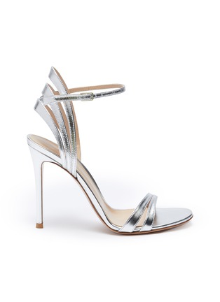 Main View - Click To Enlarge - GIANVITO ROSSI - Strappy heeled leather sandals