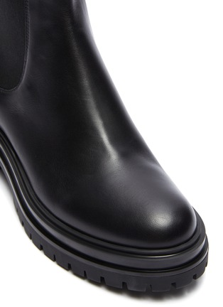 Detail View - Click To Enlarge - GIANVITO ROSSI - Lug sole leather boots