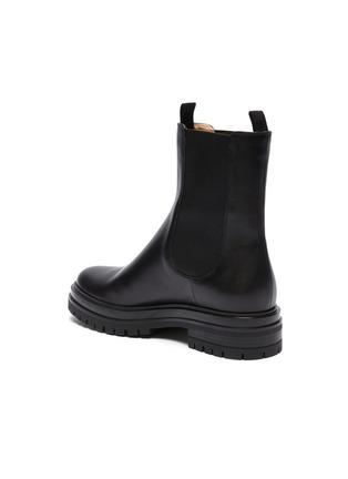 - GIANVITO ROSSI - Lug sole leather boots
