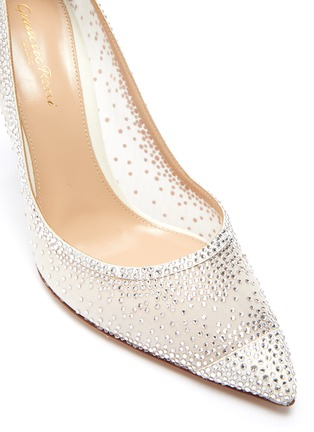 Detail View - Click To Enlarge - GIANVITO ROSSI - Rania strass embellished pumps