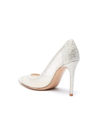 - GIANVITO ROSSI - Rania strass embellished pumps