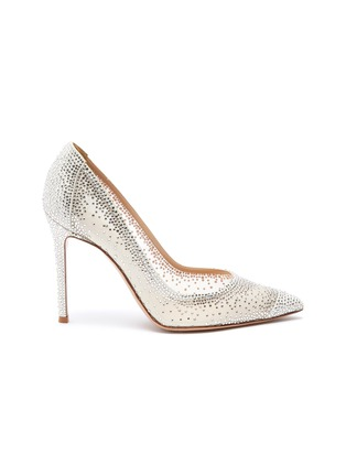 Main View - Click To Enlarge - GIANVITO ROSSI - Rania strass embellished pumps
