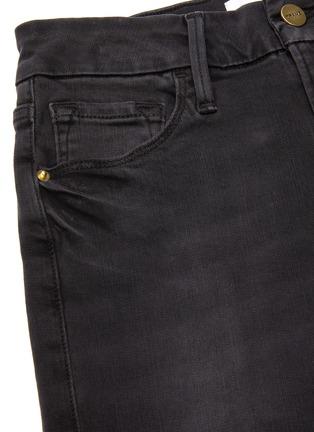 - FRAME DENIM - Le Pixie mini boot cup crop jeans