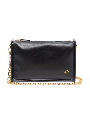 Main View - Click To Enlarge - MANU ATELIER - 'Carmen' rectangle leather bag