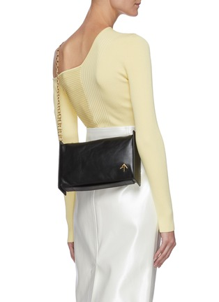 Figure View - Click To Enlarge - MANU ATELIER - 'Carmen' rectangle leather bag