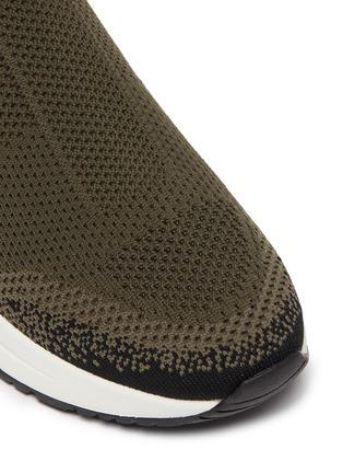 Detail View - Click To Enlarge - ASH - 'Kyle' Dégradé' knit slip-on sneakers