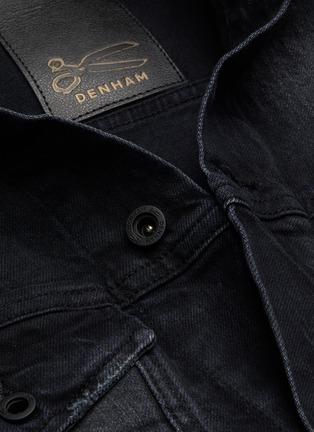 - DENHAM - 'Amsterdam BLBR' distressed detail denim jacket