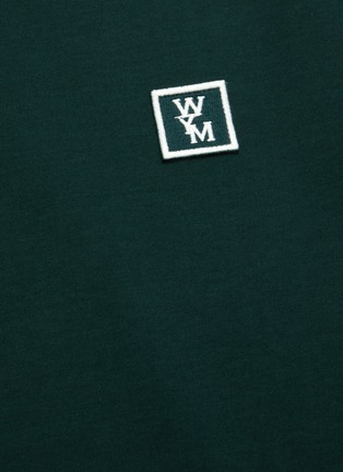 - WOOYOUNGMI - Logo embroidered cotton T-shirt