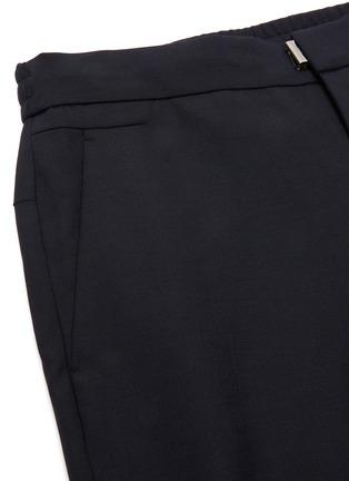 - WOOYOUNGMI - Elastic drawstring waist tapered wool blend jogging pants