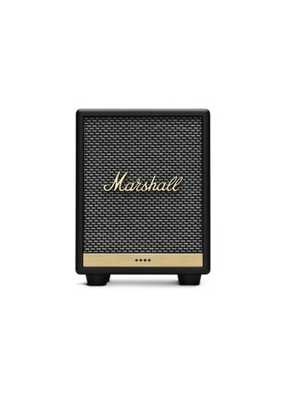Main View - Click To Enlarge - MARSHALL - Uxbridge Voice Wireless Speaker with Google Assistant – Black