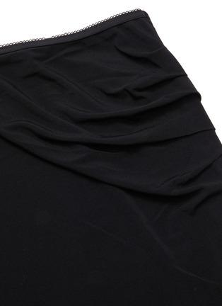 - HELMUT LANG - Twist detail snap button midi skirt