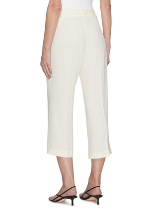 Back View - Click To Enlarge - THEORY - Crop wide suiting pants
