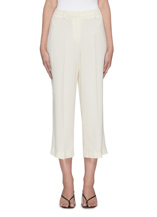Main View - Click To Enlarge - THEORY - Crop wide suiting pants