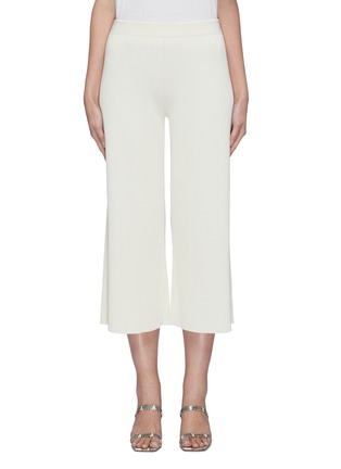 Main View - Click To Enlarge - THEORY - 'Henriet O' ribbed knit flared pants