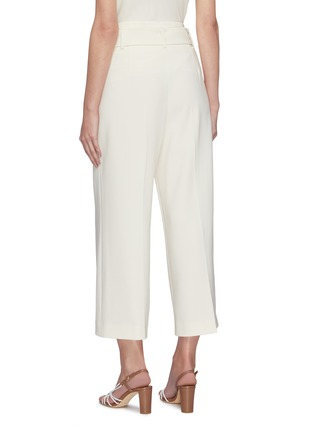 Back View - Click To Enlarge - THEORY - Belted crop suiting pants