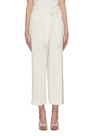 Main View - Click To Enlarge - THEORY - Belted crop suiting pants