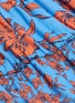 - ALICE + OLIVIA - Cheyla' floral print sleeveless panelled drawstring mini dress