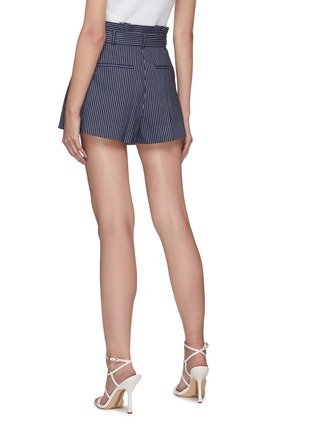Back View - Click To Enlarge - ALICE + OLIVIA - Laurine belted paperbag waist shorts