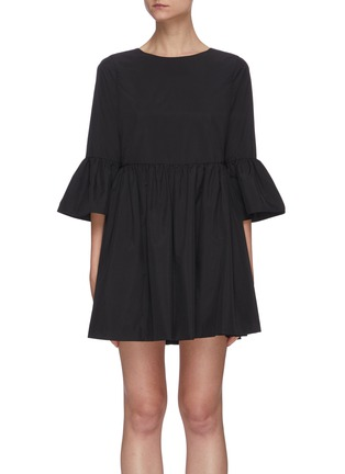Main View - Click To Enlarge - ALICE + OLIVIA - Augusta ruffle sleeve dress