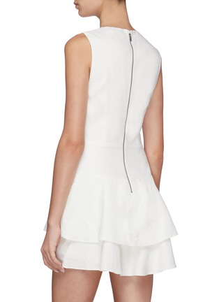 Back View - Click To Enlarge - ALICE + OLIVIA - Palmira ruffle dress