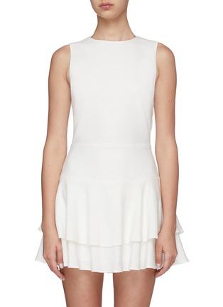 Main View - Click To Enlarge - ALICE + OLIVIA - Palmira ruffle dress