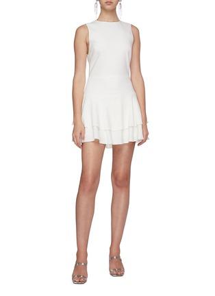 Figure View - Click To Enlarge - ALICE + OLIVIA - Palmira ruffle dress