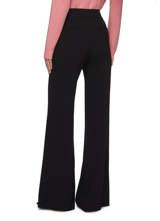 Back View - Click To Enlarge - ALICE + OLIVIA - 'Dylan' high waist wide leg pants