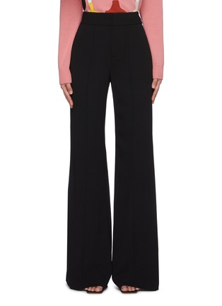 Main View - Click To Enlarge - ALICE + OLIVIA - 'Dylan' high waist wide leg pants
