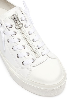 Detail View - Click To Enlarge - ASH - Gup low top zip up sneakers