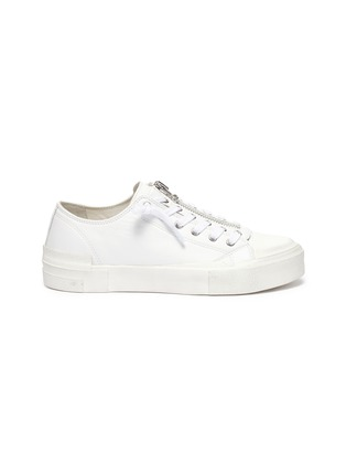 Main View - Click To Enlarge - ASH - Gup low top zip up sneakers