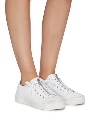 Figure View - Click To Enlarge - ASH - Gup low top zip up sneakers