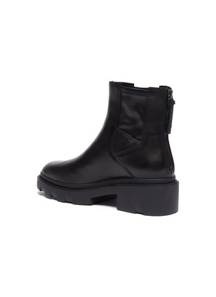 - ASH - Magma chunky sole leather Chelsea boots