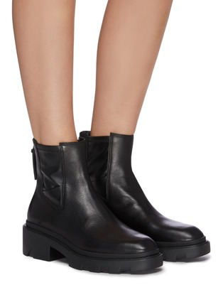 Figure View - Click To Enlarge - ASH - Magma chunky sole leather Chelsea boots