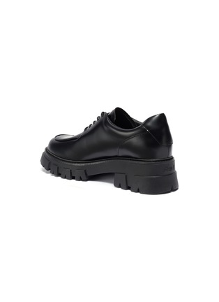 - ASH - Lab chunky sole lace up leather loafers