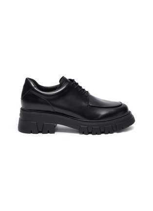 Main View - Click To Enlarge - ASH - Lab chunky sole lace up leather loafers
