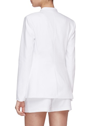 Back View - Click To Enlarge - ALICE + OLIVIA - Jerri open front blazer