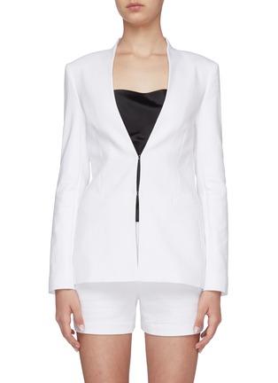 Main View - Click To Enlarge - ALICE + OLIVIA - Jerri open front blazer